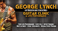 George Lynch Clinic at GoDpsMusic: March 27