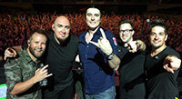 ESP at #1 with Breaking Benjamin