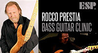 Thursday Oct 15: Rocco Prestia ESP Clinic at Sam Ash Las Vegas