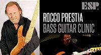 Thursday Oct 15: Rocco Prestia ESP Clinic at Sam Ash Las Vegas