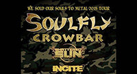 Soulfly, Crowbar, Shattered Sun, Incite Tour
