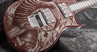 Gary Holt's Guitar, Painted In His Own Blood