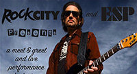 Fri July 29: Bruce Kulick at Rock City Music Co.