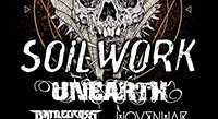Soilwork, Unearth, Battlecross on Fury Tour this Fall
