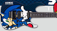 "ESP Japan Releases ""Sonic the Hedgehog"" Anniversary Guitars"