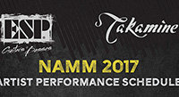 2017 NAMM Show: Performance Schedule