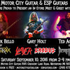 Bello, Holt, Aguilar: ESP Event at Motor City Guitar