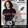 Alex Skolnick ESP Clinic at Rock City Music
