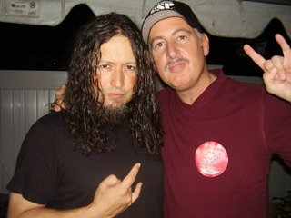 Me and Michael Wilton