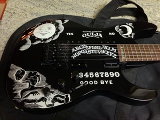 LTD KH-202 Ouija by StrngthByndStrngth