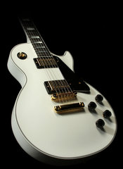 Les Paul Custom Alpine White Cs000885 1