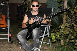 Esp Dv8  Dennis Ktd  Guitar  Padge  Esp Flying V  Esp V  Guitar  Gitarre