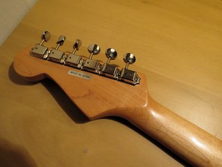 ESP 400 Series With the Fender Stratocaster Small Head Profile