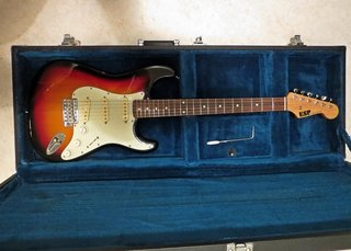 ESP 400 Series Stratocaster 1984-85 (?) and Original Case