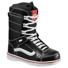 Vans Hi Standard Snowboard Boots 2013 Black White Front 600x600
