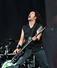 Anthrax  Frank Bello At Wacken Open Air 2013