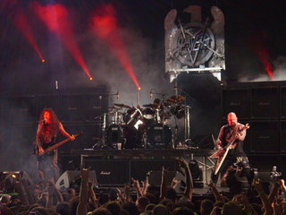 Slayer Performing At Mayhem Fest 2009