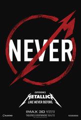 Metallica Never Teaser Poster