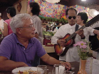 Dad Buffet Guitar Player
