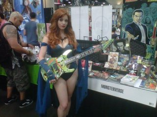 Nos Guitar Mv Booth Sdcc 12
