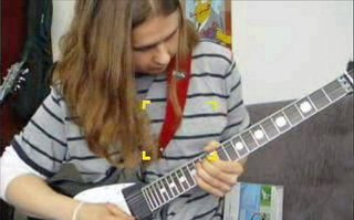 Shredding on my ESP LTD RZK-600