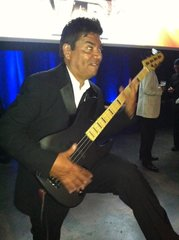 George Lopez playing the LTD PT-4 signature bass