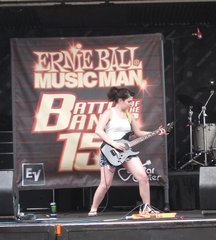 Ernie Ball Stage Warped Tour 2011