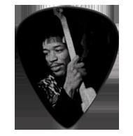 Jimi Hendrix Silver Portrait Series 5