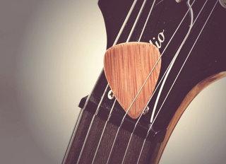 Bamboo Guitar Pick