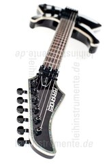 Electric Guitar Fernandes Revolver Elite See Thru Black Neck