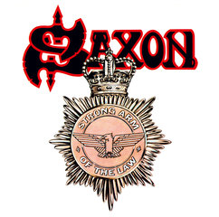 Saxon Strong Arm Of The Law
