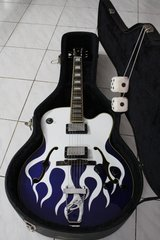Squier X-155 Blue Heat Limited Edition