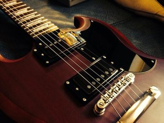 Epiphone SG with JH pickups