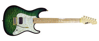 GK-009 S1425102 SNAPPER-CTM See Thru Green Sunburst
