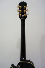 Epiphone Les Paul Custom Ebony Gold Hardware - back