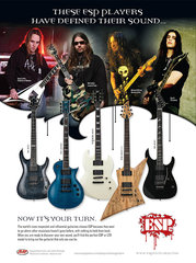 Esp 2007 Guitar Product Ad