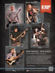 Esp 2012 New Basses New Faces Ad