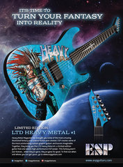 Esp 2013 Heavy Metal Ad