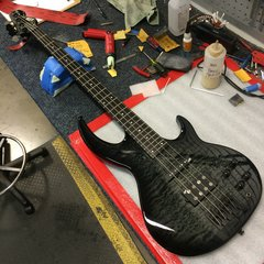 LTD Bunny Brunel Signature bass