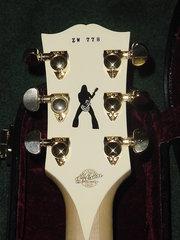 Gibson Les Paul Zakk Wylde Bullseye #778 Back Headstock