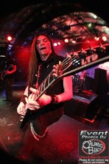 Zack Donovan Of Arakara With His Esp Ltd V 401dx