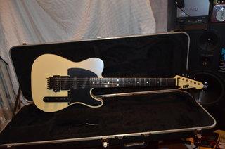 1988 ESP Custom Tele - Pearl White