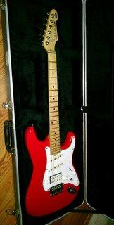 """ESP Jake E Lee 1 of 1 """"Red"""" Custom for Jake"""