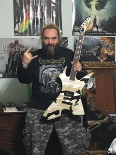 Max Cavalera and the new ESP Signature Max Cavalera RPR