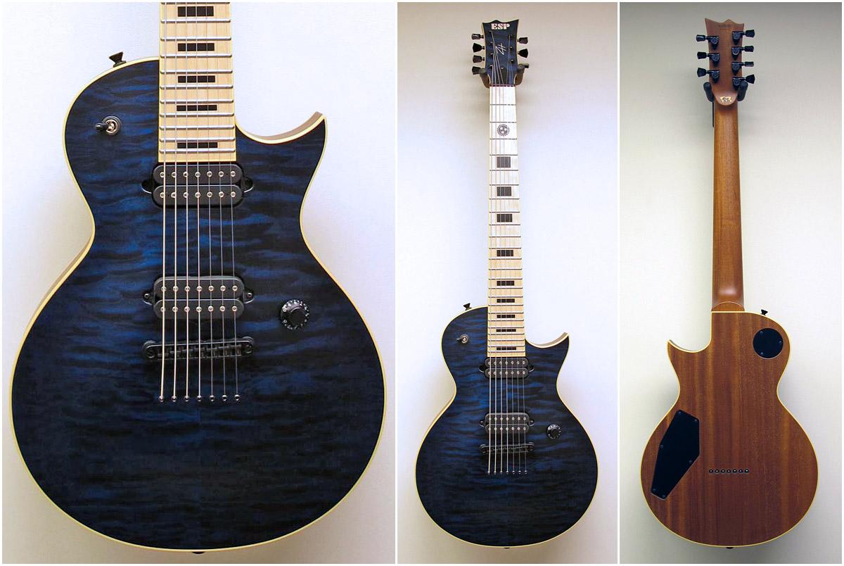 custom shop gallery custom order photos the esp guitar company. Black Bedroom Furniture Sets. Home Design Ideas