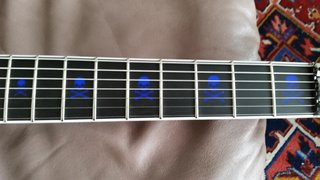 Esp Arrow 7 String Inlays  (1st Version)