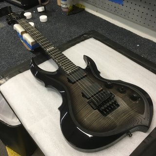 E-II FRX See Thru Black Sunburst