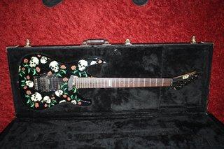 1990 ESP Meeks Skulls & Roses