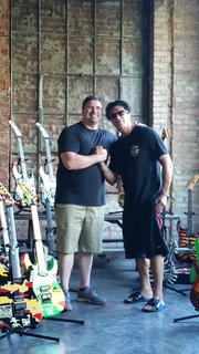 Scott Campbell and George Lynch Photo Shoot