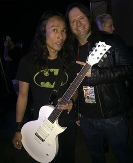 Ted Aguilar (Death Angel) and Gary Holt (Slayer/ Exodus)